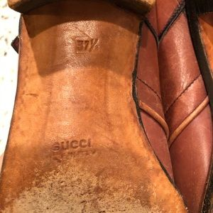 Vintage Gucci shoes
